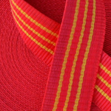 Стрічка 50мм 25м буксирувальна червона