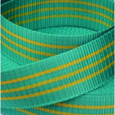 Стрічка 25мм 50м буксирувальна зелена