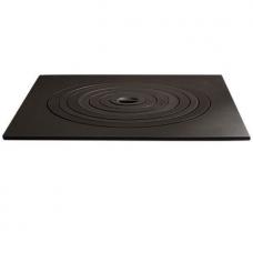 Плита чавунна пічна 550х550 мм (7 кілець)