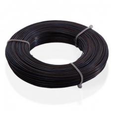 Дріт 0,8 мм чорний 100м/зв'язка