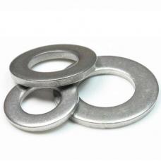 Шайба 4x10*1 плоска цинк DIN 125, 1000 шт/упаковка